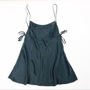 Victoria's Secret Lingerie Camisole Tie Top Sz Med